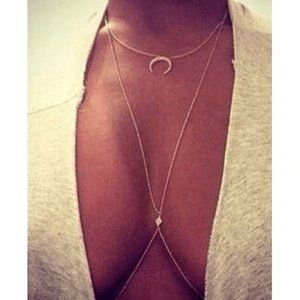 New Sexy Body Chain Necklace.